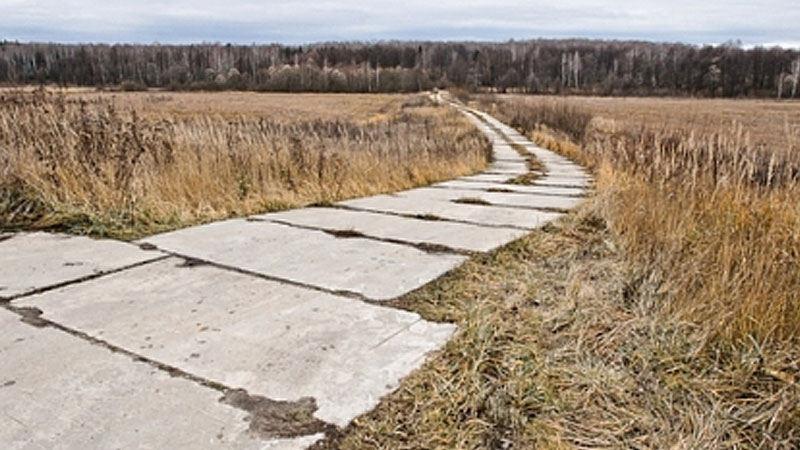 Неизвестные украли 25 километров дороги между населенными пунктами Орловской области