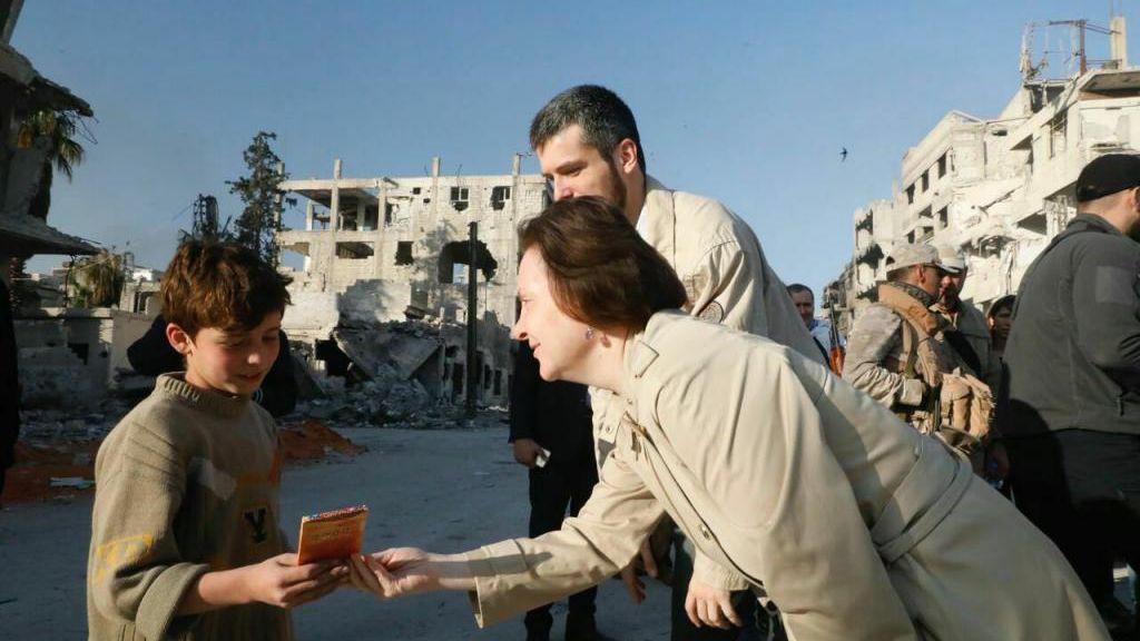 Губернатор Югры поведала оракетном ударе поСирии