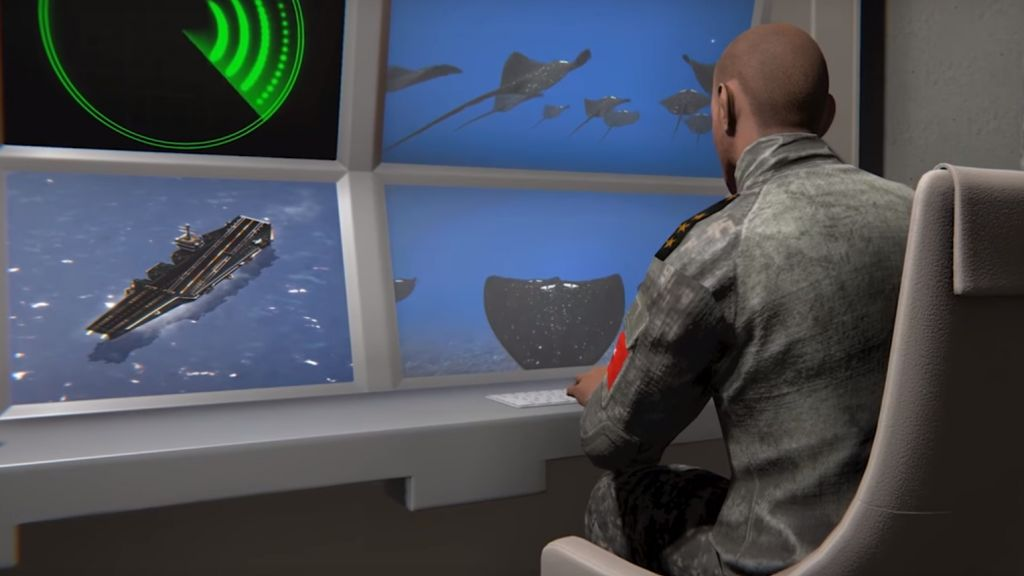 ВТурции разработали роботизированные морские мины, замаскированные под скатов