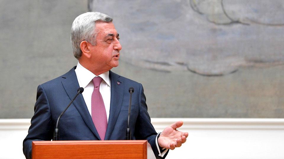 Протест не помог: Саргсян избран премьер-министром Армении