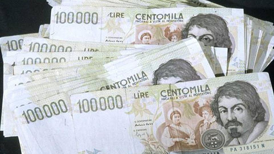 Итальянец получил внаследство 3 млрд.  лир, неподлежащих обмену