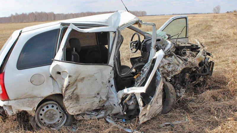 В Увельском районе в жутком ДТП погибли три человека