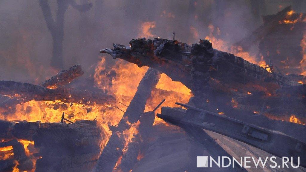 На месторождении Ямала сгорел вахтовик