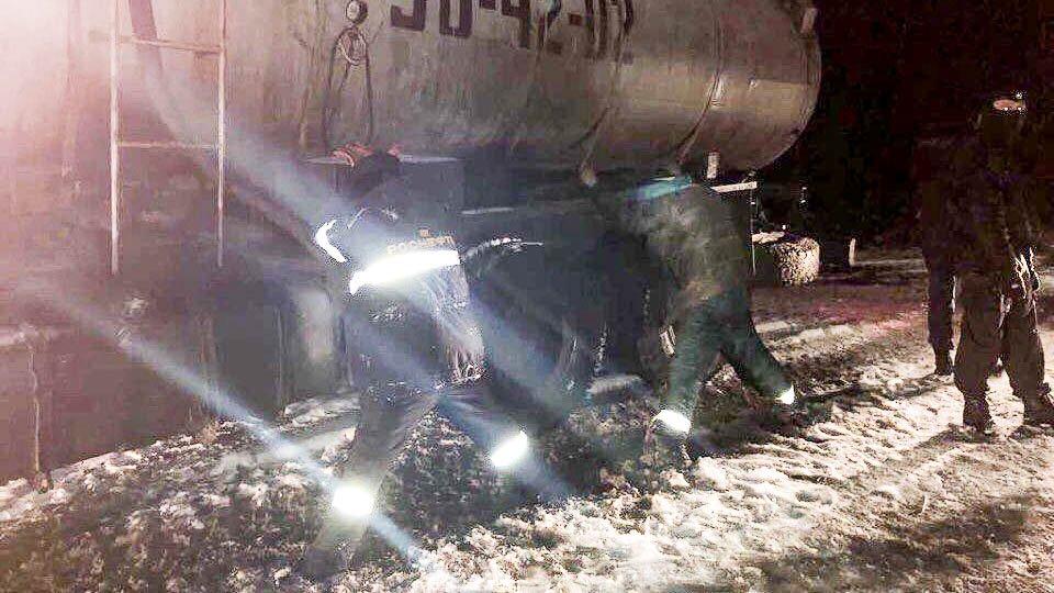 ВНефтеюганске ОБЭП задержана банда похитителей газового конденсата