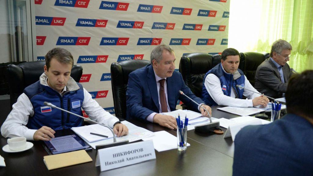 Руководитель Ямала Кобылкин работает в российской столице свице-премьером Рогозиным