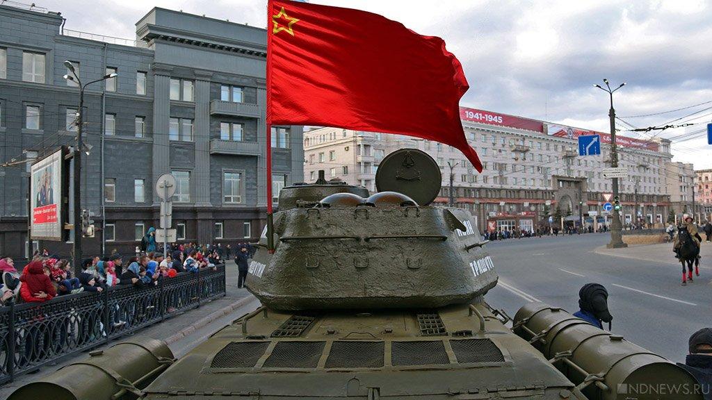 ВЧелябинске начался парад Победы