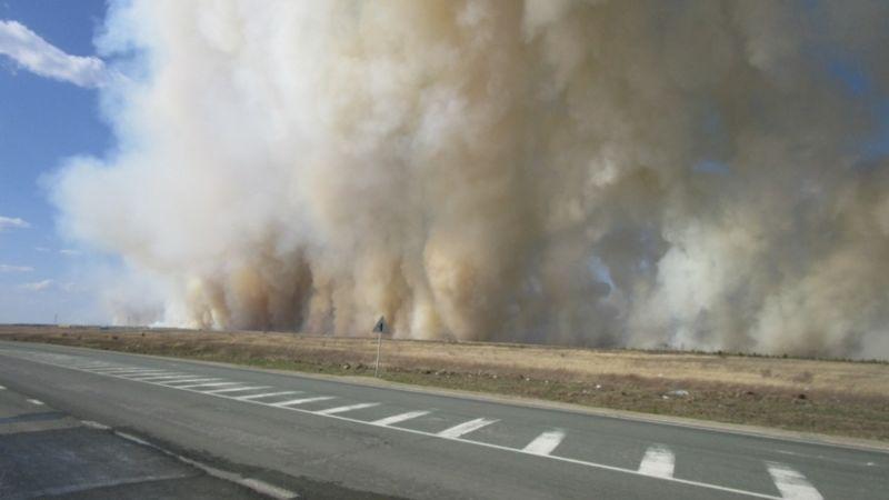 «Горим»: на Южном Урале объявлена чрезвычайная ситуация