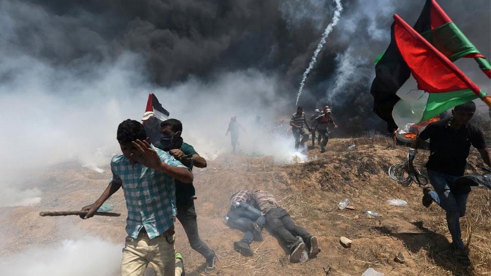 В столкновениях военных Израиля с палестинцами погибли около 60 человек
