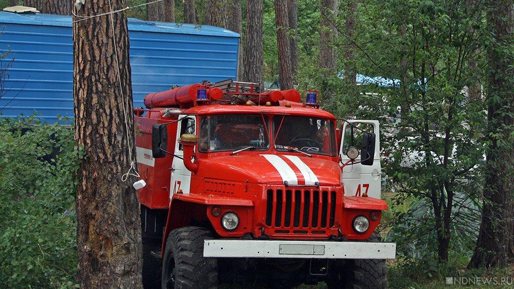 На Южном Урале удвоилось количество крупных лесных пожаров