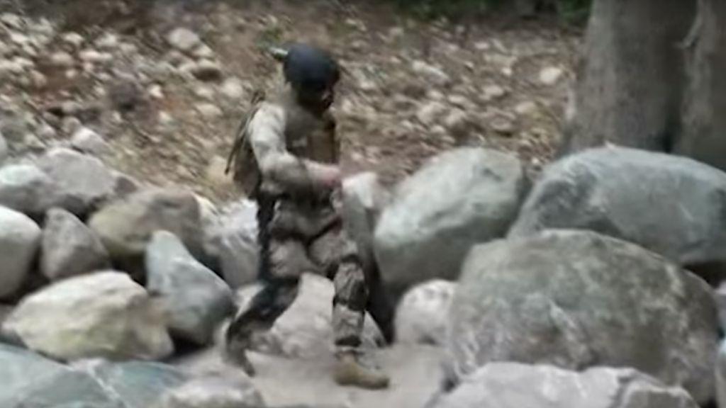 Появилось видео испытаний боевого экзоскелета