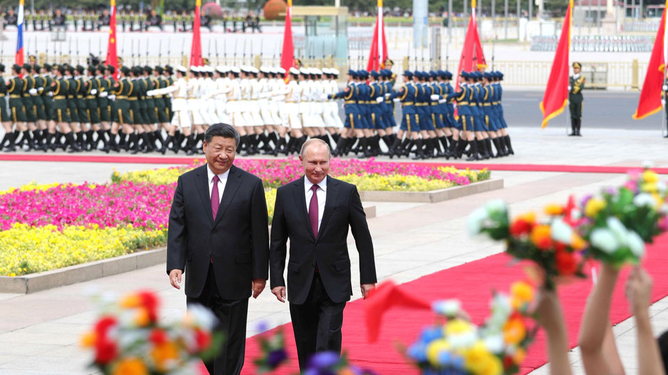 Путин и «Катюша»: пекинский привет для президента РФ