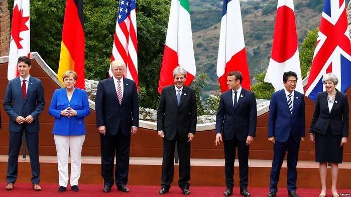 G7 призвала Россию «прекратить дестабилизирующее поведение» и пригрозила санкциями