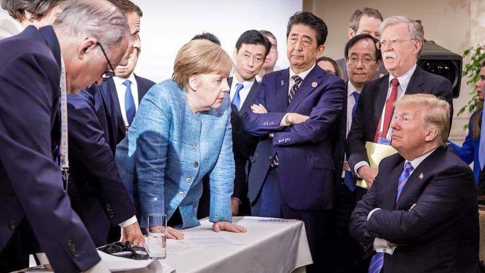 Меркель ответила Трампу на критику отношений с Россией