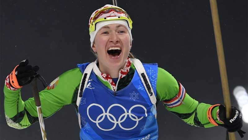 Биатлонистка-чемпионка Дарья Домрачева ушла из большого спорта: «Решение нелегкое»