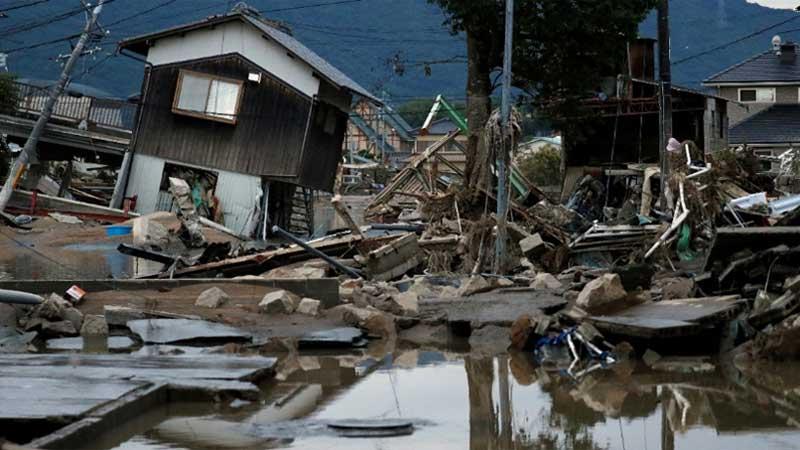 Шесть человек погибли вЯпонии из-за ливневых дождей