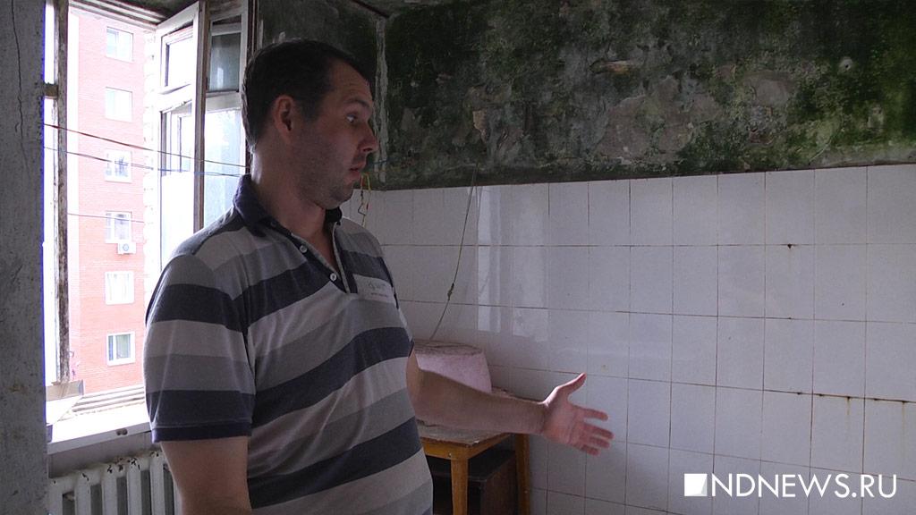 УК перекрыла воду и послала людей в баню: новые злоключения жильцов дома с рухнувшей стеной (ВИДЕО)