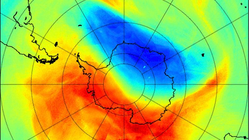 Ученые: над Антарктидой закрылась озоновая дыра, но она может открыться вновь