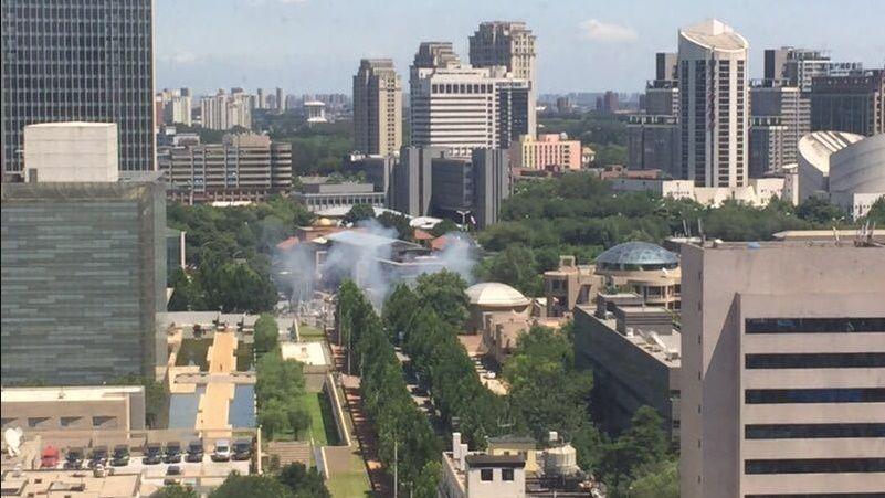 Встолице Китая схвачен предполагаемый виновник взрыва упосольства США