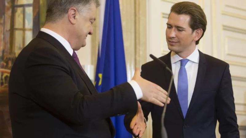 Больше никаких свадеб с казаками! Порошенко поиздевался над австрийским канцлером, предварительно заручившись обещанием кредита