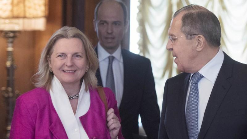 Глава МИД Австрии: Россия – партнёр Европы, и пора это признать