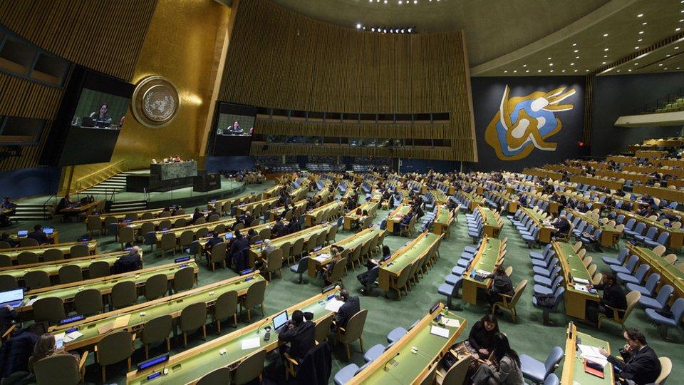 Киев возжелал ужесточить резолюцию ООН по Крыму