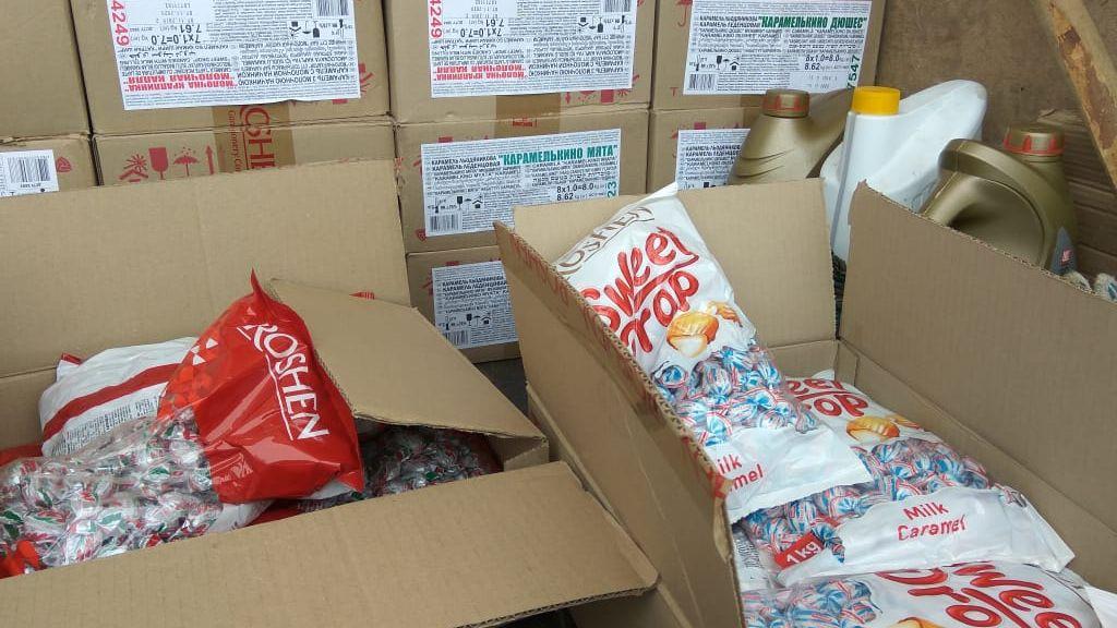 Челябинские пограничники задержали 2,5 тонны украинских конфет Roshen