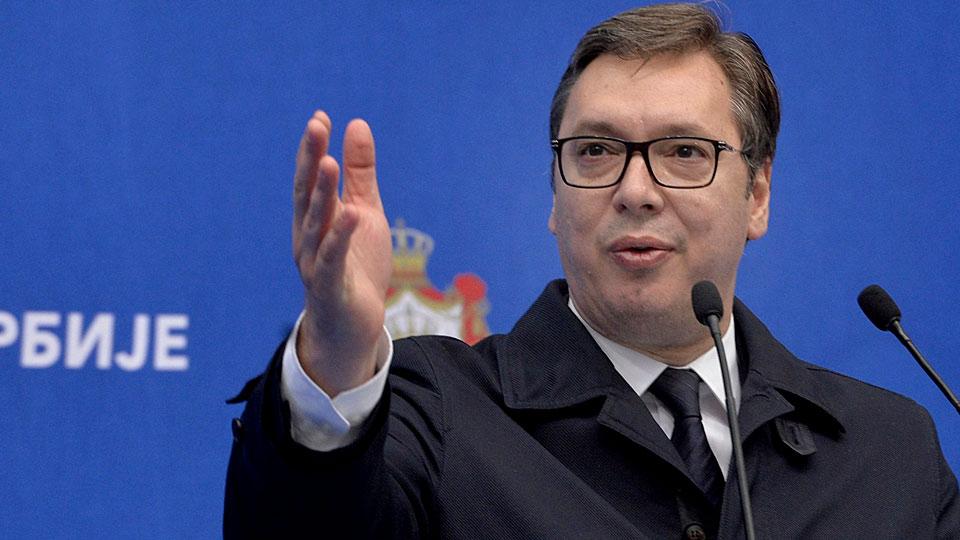 «Из кулуаров шпионской канализации»: президент Сербии прокомментировал «поставки» Белградом оружия на Украину