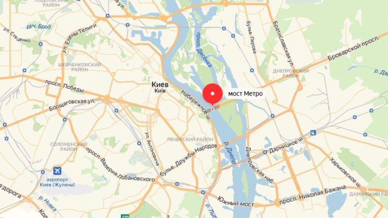 Беглый крымчанин угрожает взорвать мост через Днепр в Киеве – СМИ