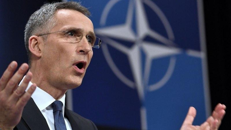 Генсек НАТО призывает вооружать Украину