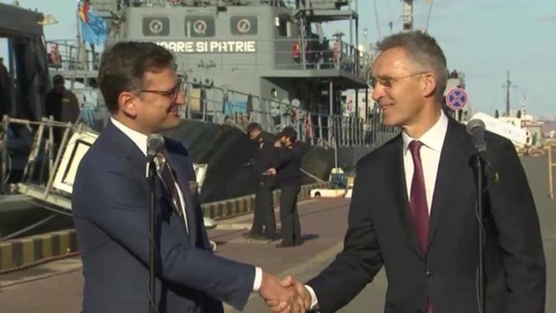 Столтенберг прибыл в Одессу соблазнять Украину новой «глобальной инициативой» НАТО