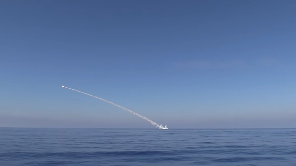 Адмирал ВМС Украины пожаловался на российские «Калибры» в море