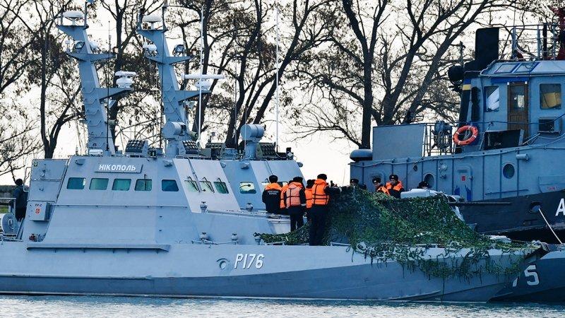 ФСБ назвала дату передачи Украине арестованных кораблей