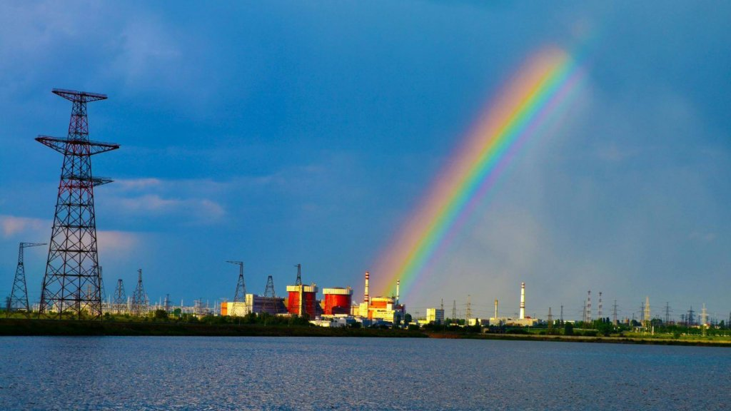 На Южно-Украинской АЭС экстренно остановили реактор