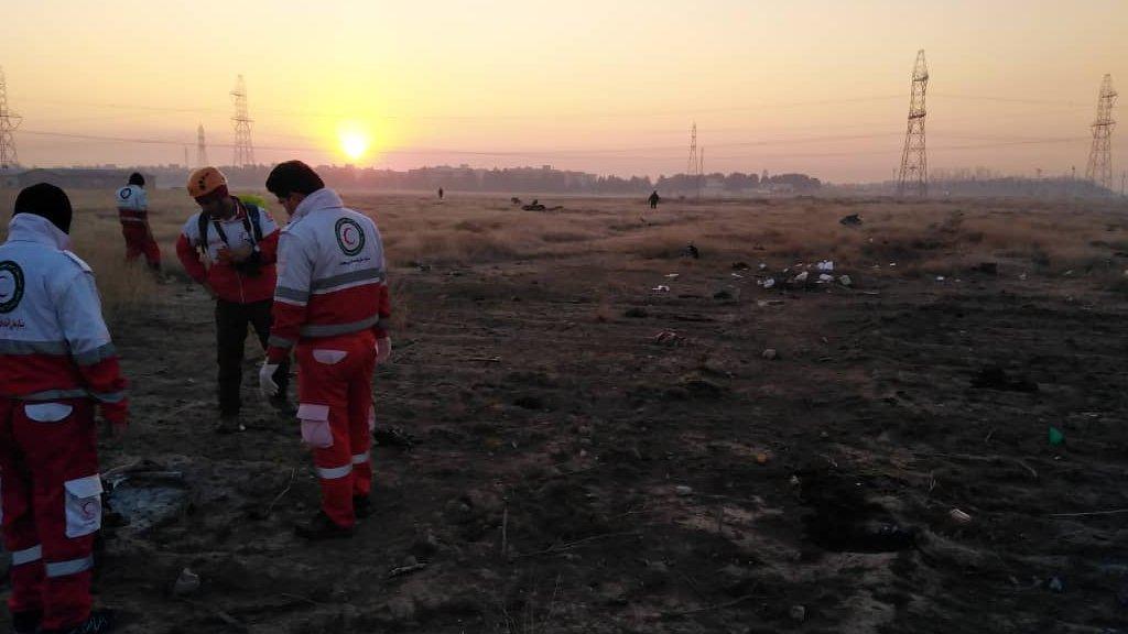 В разбившемся в Иране самолете были граждане семи стран мира