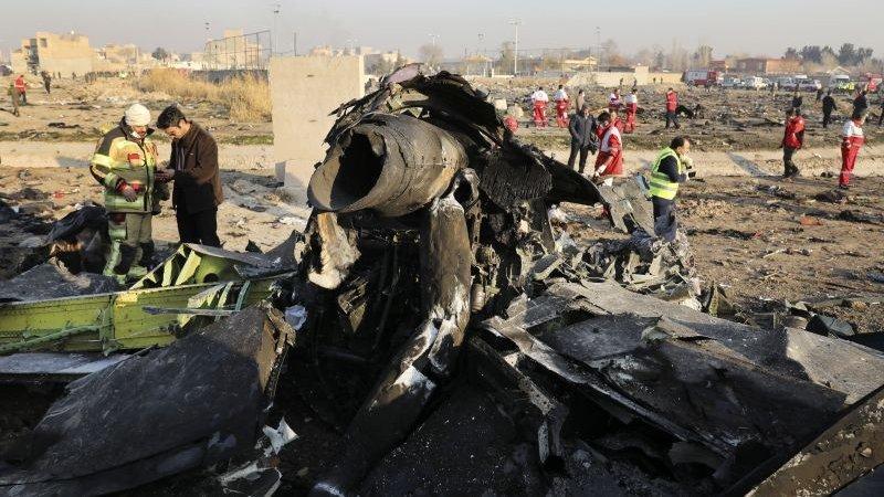 Тегеран готов передать Киеву тела погибших в авиакатастрофе