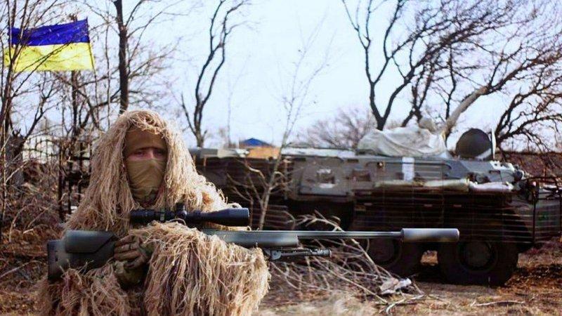 Киев направил в Донбасс группу снайперов – уже есть жертвы
