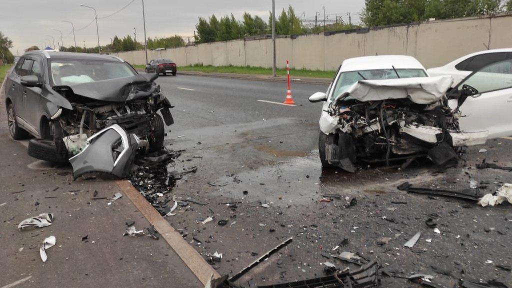 Массовая авария с пострадавшими произошла сегодня в Тюмени