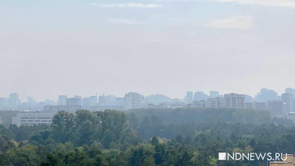 В Тюмени снова пахнет гарью, над городом дымка