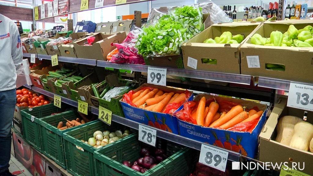 Осенью в России подорожают овощи и фрукты