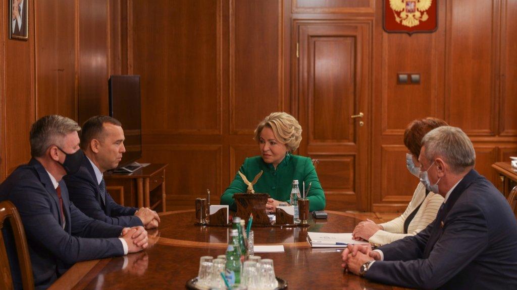 Матвиенко выступила с заявлением на «Дне Курганской области» в Совфеде