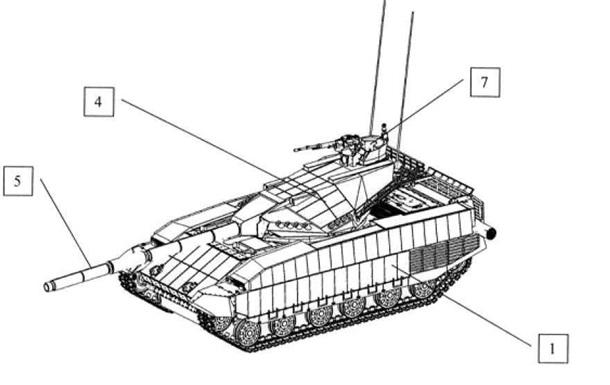 Украина запатентовала будущего конкурента танка «Армата»