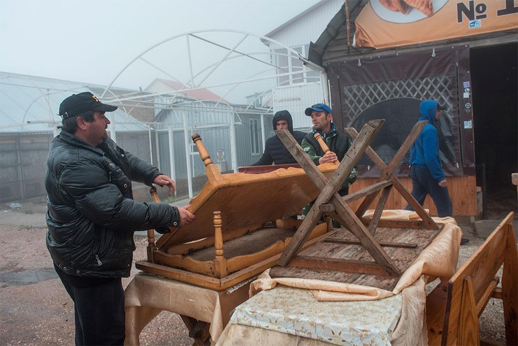 Демонтаж нелегально выстроенных объектов начался наплато Ай-Петри