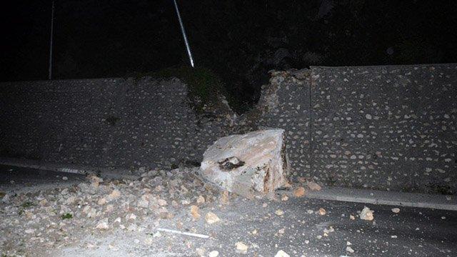 На дорогу Ялта— Севастополь обрушились скалы