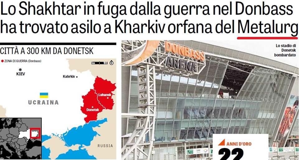 Gazetta dello Sport впрямом репортаже признала Крым русским