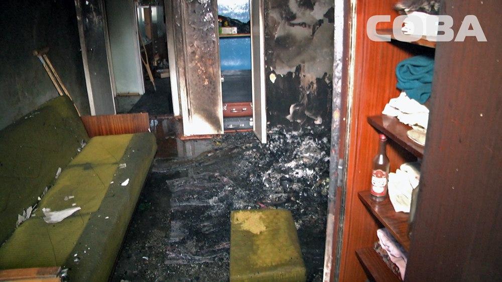 ВЕкатеринбурге всгоревшей квартире обнаружили тела 2 человек