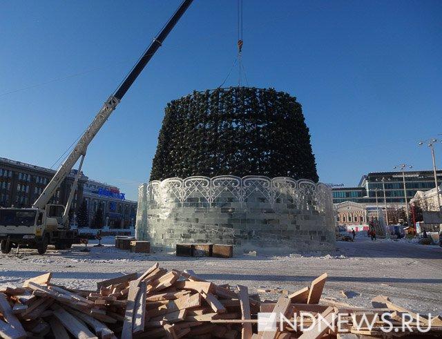 Новый ледовый городок вЕкатеринбурге посвятят чемпионату мира пофутболу