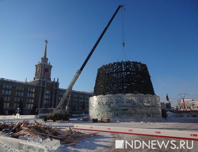 ВЕкатеринбурге выдумали тему ледового городка кследующему Новому году