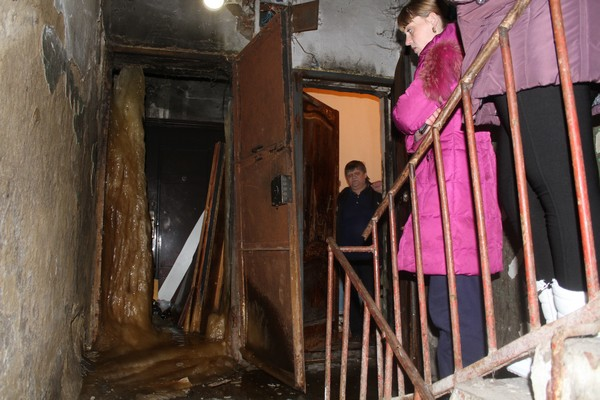 ВСерове вжилом доме вырос огромный сталагмит изфекалий