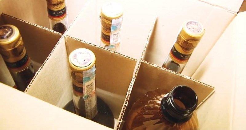 Несколько тыс. литров спиртного отобрали убутлегеров наУрале