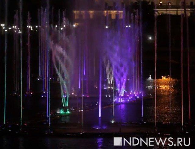 ВЕкатеринбурге начался монтаж фонтанов наИсети